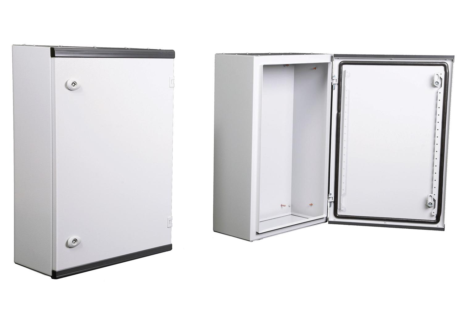Ares Series WALL MOUNTED ENCLOSURES -  SOLID DOOR, WITHOUT MOUNTING PLATE