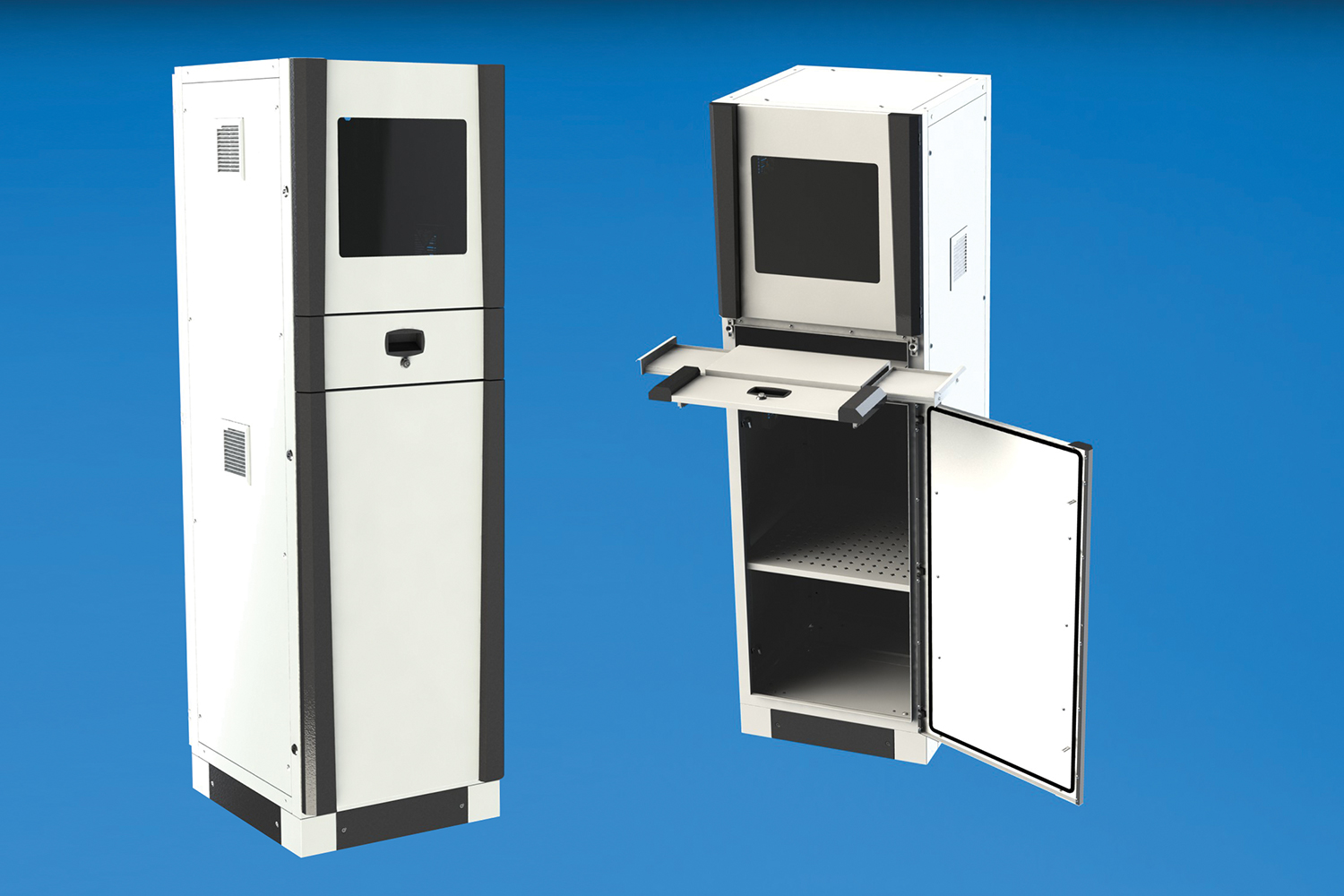 Pc Cabinet Series Tekpan Industrial Enclosures Amp Cabinets